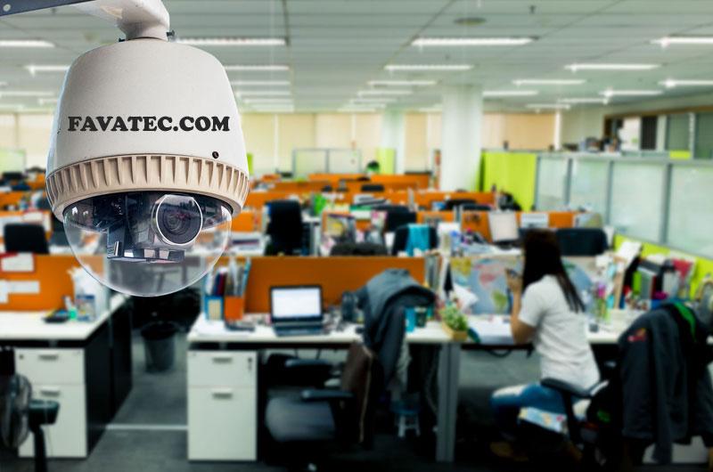 نصب دوربین مداربسته در واحدهای اداری