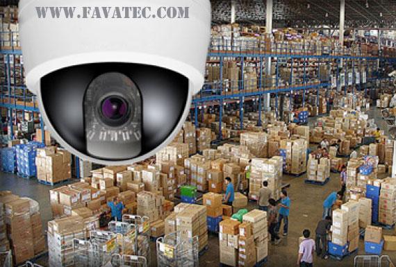 کاربرد دوربین مداربسته در صنعت