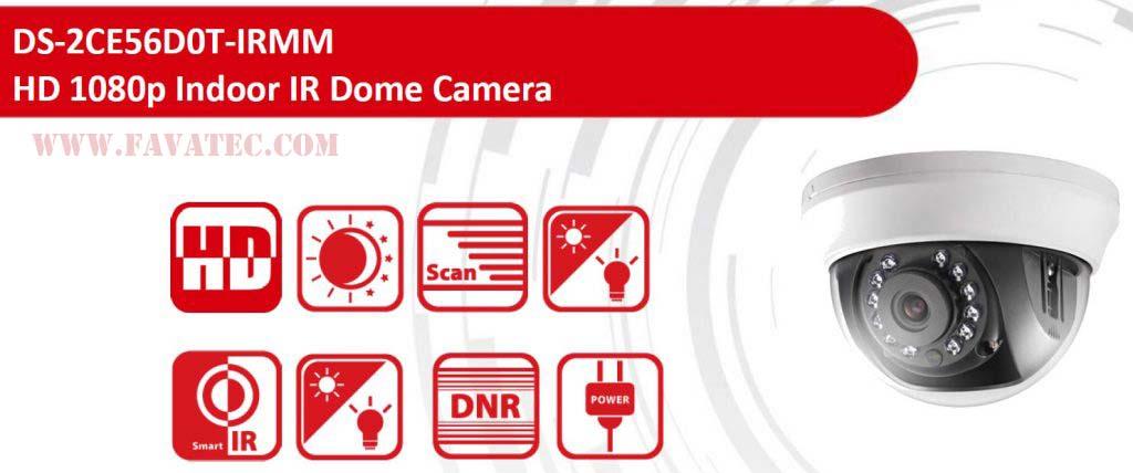 دوربین مدار بسته Turbo HD هایک ویژن DS-2CE56D0T-IRMM