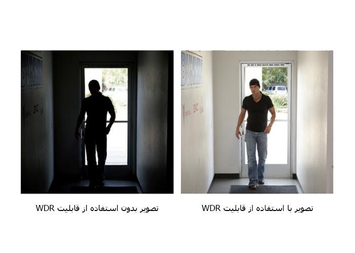 نمونه تصویر دوربین مداربسته با قابلیت WDR سونی 327