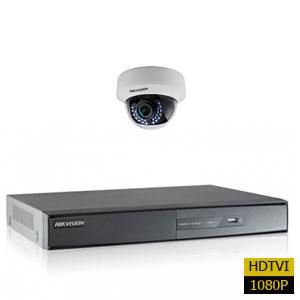 پکیج اماده یک دوربین مداربسته هایک ویژن HDTVI 1080P دو مگاپیکسل