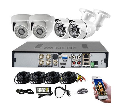 تجهیزات اصلی مورد نیاز دوربین مداربسته با سیم