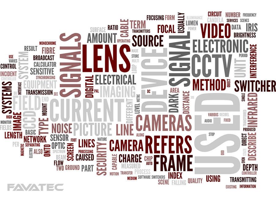 اصطلاحات و نماد های دوربین مداربسته